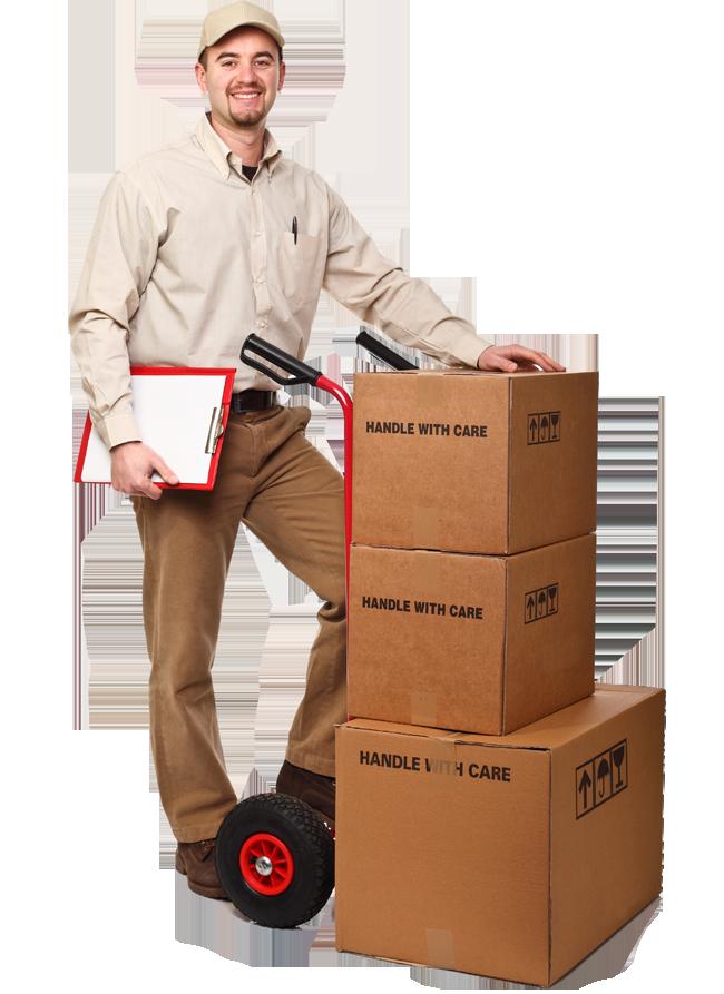 Delivery man duncan